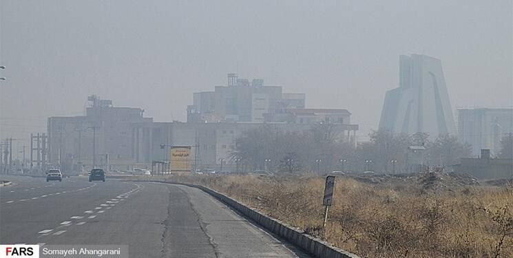 غبارمحلی مهمان این هفته تهرانیها/ دمای فیروزکوه منفی میشود