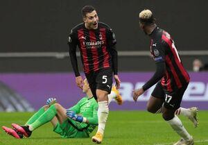 پیروزی میلان و شکست تیم مورینیو مقابل یاران بیرانوند