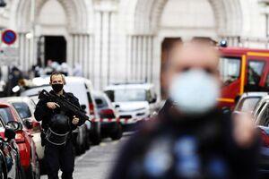 عکس/ قتل سه نفر با چاقو در نیس
