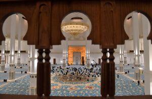 عکس/ مسجد ۱۲۰ هزارنفری الجزایر