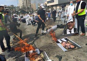 تظاهرات در غزه و کرانه باختری در محکومیت اهانت به پیامبر(ص) / ماکرون در آتش خشم فلسطینیان سوخت