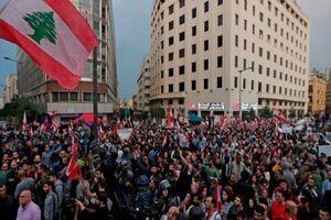 مردم لبنان در اعتراض به اهانت به پیامبر (ص) تظاهرات کردند