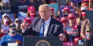 سیانان: ابتلا به کرونا در شهرهای برگزاری تجمع انتخاباتی ترامپ افزایش یافته است