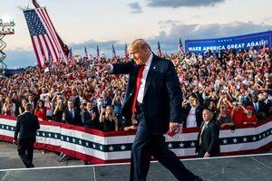 ۶۰ درصد با اقدام ترامپ در برگزاری تجمعهای انتخاباتی موافق نیستند
