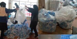 کشف ۸۰هزار عدد ماسک احتکار شده در مسجدسلیمان