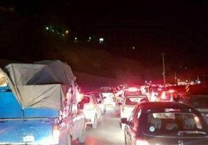 حیران بار دیگر قفل شد!/ پیچ و خم ترافیک سنگین آنهم در شرایط بحران همهگیری کرونا