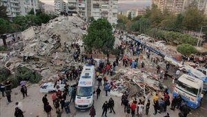 تازهترین آمار از زلزله در ترکیه و یونان؛ ۱۴ کشته و ۴۱۹ زخمی
