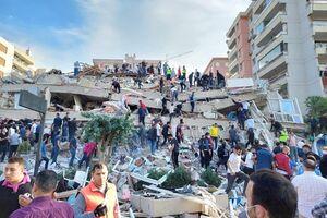 آفاد: زلزله در ترکیه ۲۴ کشته و بیش از ۸۰۰ مجروح بر جا گذاشت