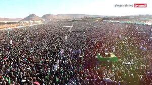 فیلم/تجمع میلیونی مردم صعده یمن به مناسبت میلاد پیامبر