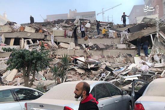اولین تصاویر از خسارت زلزله مهیب در ترکیه
