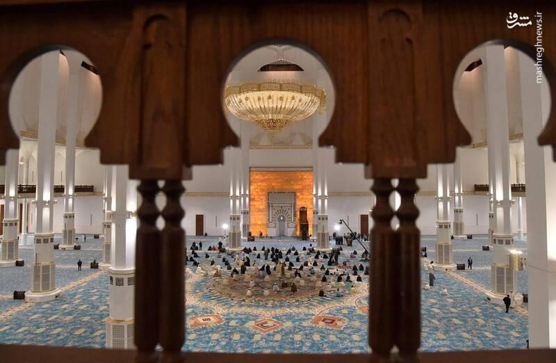 ساخت این مسجد یک سال و نیم پیش به پایان رسیده است