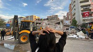عکس/ «ازمیر» در شوک زلزله 6.6 ریشتری