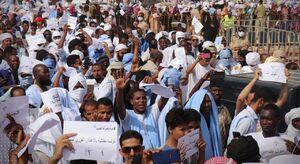عکس/ تظاهرت گسترده علیه فرانسه در غرب آفریقا