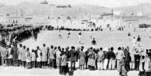 وقتی فوتبال به ایران قدم گذاشت/ پیروزی تیم فوتبال تهران بر انگلیسیهای مقیم مرکز!
