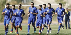 گزارش تمرین استقلال| جلسه فکری با بازیکنان و غیبت 2 مربی/استقبال آبی پوشان از نادری+ عکس