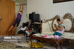 عکس/ حاشیههای آموزش آنلاین در منازل