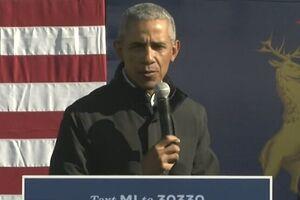 تبریک توییتری اوباما به بایدن و کامالا هریس