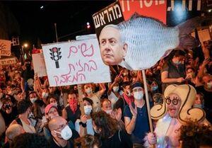 رژیم اسرائیل|ازسرگیری تظاهرات علیه نتانیاهو در هزار نقطه و درخواست برای کنارهگیری وی