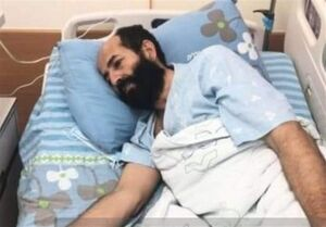 """وخامت شدید حال """"ماهر الاخرس"""" در نود و هفتمین روز اعتصاب غذا"""