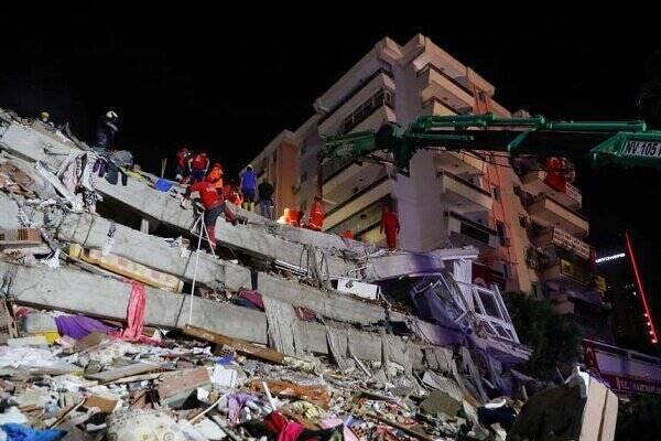افزایش شمار قربانیان زلزله «ازمیر» ترکیه