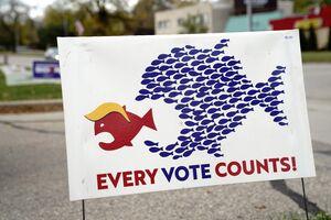 حالوهوای آمریکا در آستانه انتخابات/ تصاویری که شما را میخنداند