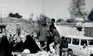 حمله بیامان صدام به مردم غیرنظامی ایران