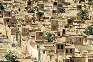 منظم ترین روستای خشتی جهان در ایران +عکس