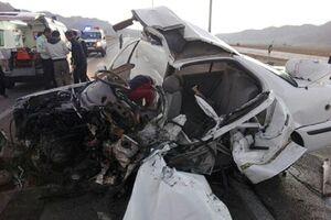 انحراف به چپ سواری سمند ۷ نفر را در جنوب سیستان و بلوچستان به کام مرگکشاند