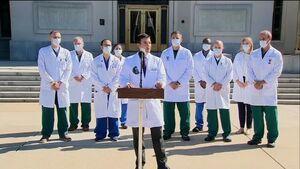 ترامپ بار دیگر جامعه درمانی و بهداشتی را به دروغ گویی متهم کرد