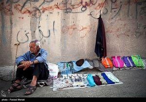 عکس/ کسادی بازار سنتی کرمانشاه در اثر شیوع کرونا