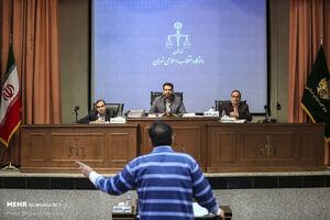 عکس/ دهمین جلسه دادگاه محمد امامی