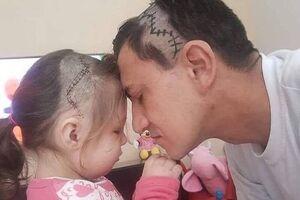 عکس/عشق پدر و دختری در یک قاب