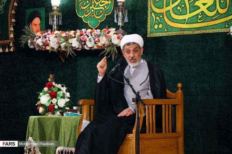 سخنرانی حجت الاسلام والمسلمین ناصر رفیعی دررواق امام خمینی (ره) حرم مطهر