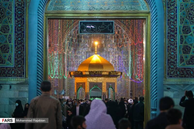 سقاخانه واقع در صحن انقلاب اسلامی حرم مطهر