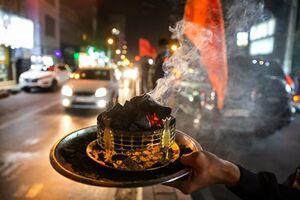 عکس/جشن خیابانی ولادت
