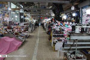عکس/ سایه نحس کرونا بر سر بازار ساحلی آستارا