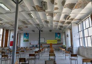 ناامنی دانشآموزان زیر سقف لرزان مدارس فرسوده +عکس