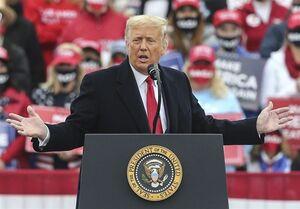 ترامپ: رای دیوان عالی درباره پنسیلوانیا موجب خشونت میشود
