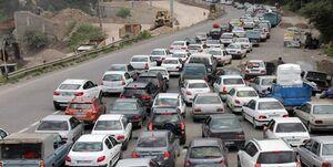 فیلم/جولان کرونا در ترافیک جاده هراز همزمان با اوج کرونا