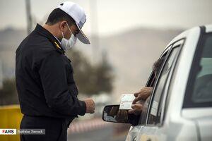 جریمه ۵۰ هزار خودرو در محدودیت تردد شبانه