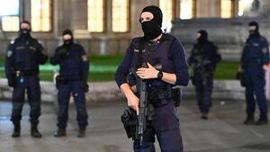 تسلیحات عامل تروریستی حمله اتریش+عکس