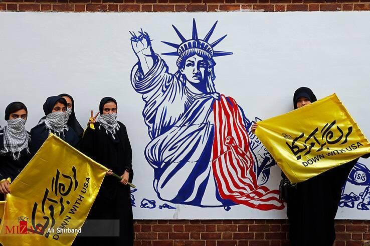 یوم الله۱۳آبان، تصویرساز خباثت آمریکا/ «مرگ بر آمریکا»، ۱۳آبان، غرش استکبار ستیزی ملت امام حسین(ع)