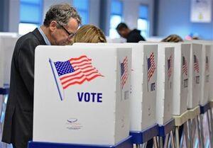 پایان مهلت رأیگیری در ۲ ایالت شرقی آمریکا