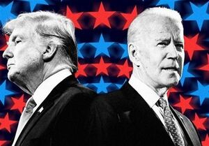 آرای الکترال بایدن بیش از ترامپ است