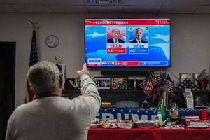 عکس/ بیم و امید آمریکاییها از اعلام نتایج انتخابات