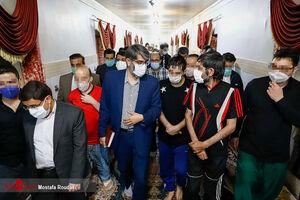 عکس/ حضور رئیس سازمان زندانها در زندان رجایی شهر
