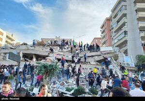 آخرین آمار زلزله ازمیر/ ۱۱۳ جان باخته و ۱۰۳۵ مصدوم