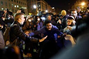 اعتراضات ضدترامپ در آمریکا همزمان با شمارش آرا +عکس