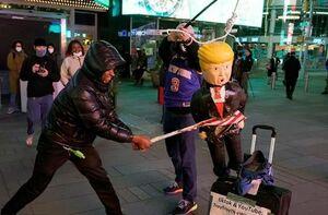 فیلم/ طرفداران ترامپ و بایدن به خیابانها آمدند