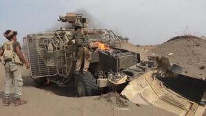 آخرین تحولات میدانی جنوب استان الجوف یمن/ توقف پیشروی مزدوران سعودی پس از اشغال منطقه راهبردی «النضود» + نقشه میدانی و عکس